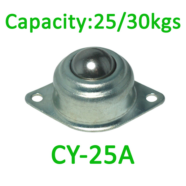 CY-25A ball transfer unit,25kg load capacity ,25mm carbon steel unit transfer