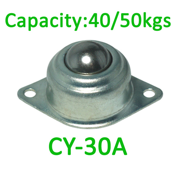 CY-30A ball transfer unit,40kg load capacity ,30mm carbon steel ball unit