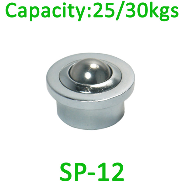 SP-12 ball transfer unit,25kg load capacity ,12mm transfer unit