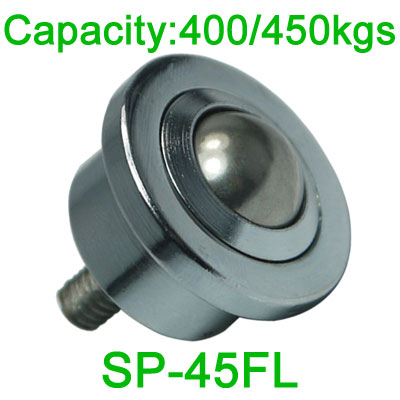 SP-45FL ball transfer unit,400kg load ball bearing unit,M20 bolt transfer bearing unit
