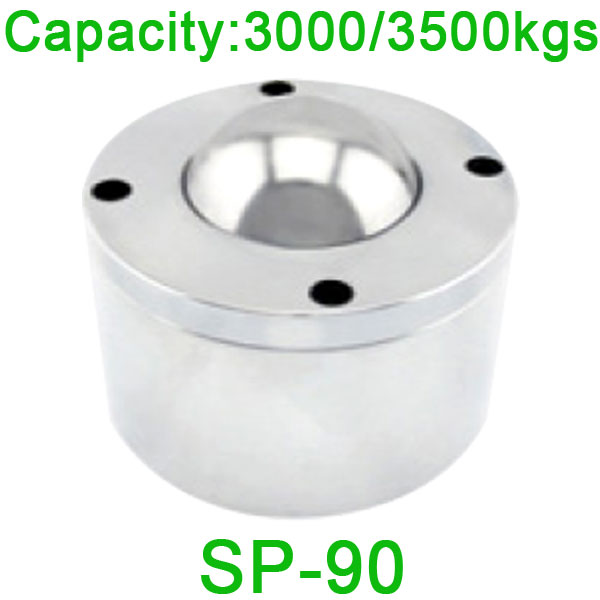 SP-90 Ball Transfer Unit,3000kgs Loading Capacity heavy duty Euro type Ball Unit